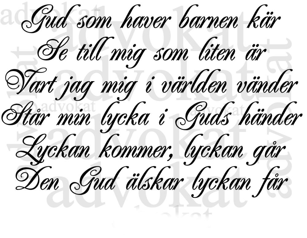 Gud som haver barnen kär